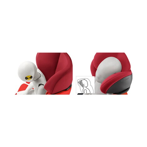 Cybex SILVER Solution M-Fix Kindersitz  rumba red 5