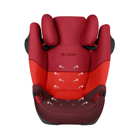 Cybex SILVER Solution M-Fix Kindersitz  rumba red 8