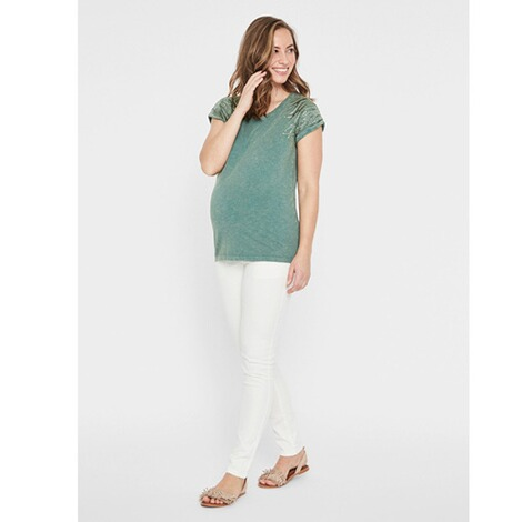 MAMALICIOUS®  Umstands-T-Shirt Annabell Organic Cotton 5