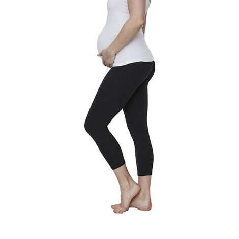 MAMALICIOUS®  2er-Pack Umstands-Leggings Lea Organic Cotton 5