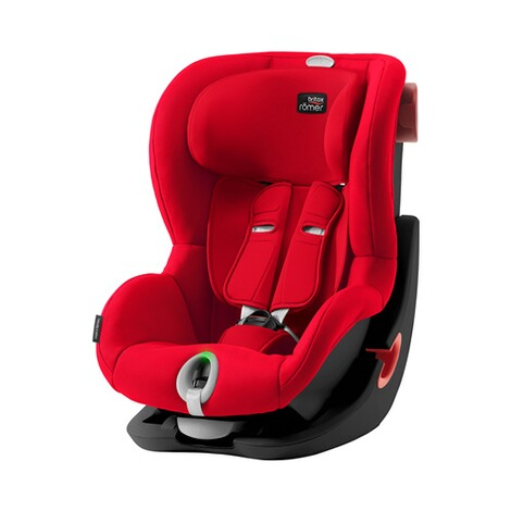 Britax Römer  King II LS Kindersitz  Black Series fire red 1