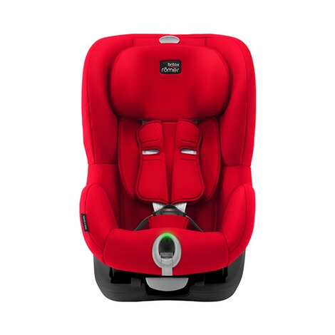 Britax Römer  King II LS Kindersitz  Black Series fire red 2