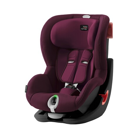Britax Römer  King II LS Kindersitz  Black Series burgundy red 1