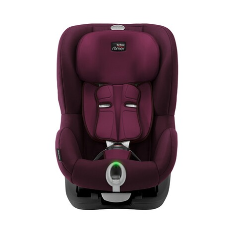 Britax Römer  King II LS Kindersitz  Black Series burgundy red 2
