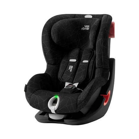 Britax Römer  King II LS Kindersitz  Black Series crystal black 1