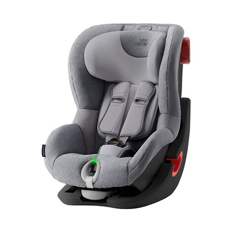 Britax Römer  King II LS Kindersitz  Black Series grey marble 1