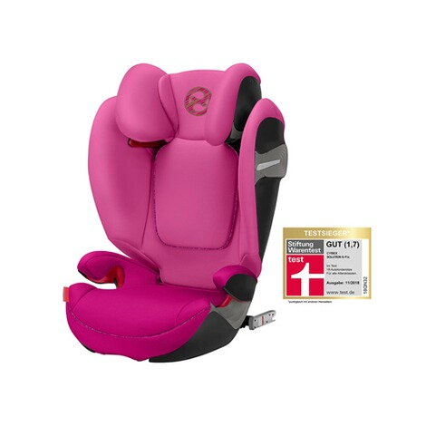 Cybex GOLD Solution S-Fix Kindersitz  fancy pink 1
