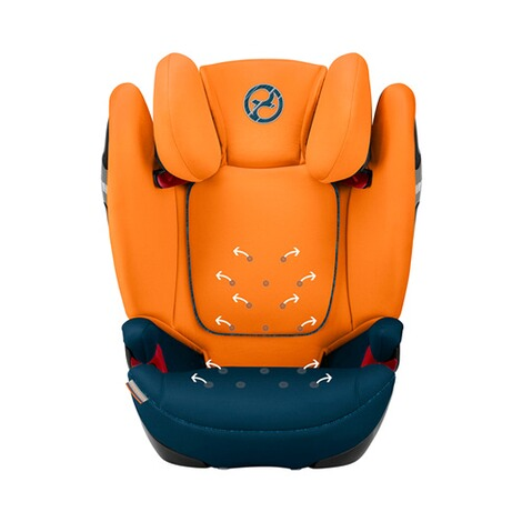 Cybex GOLD Solution S-Fix Kindersitz  tropical blue 4
