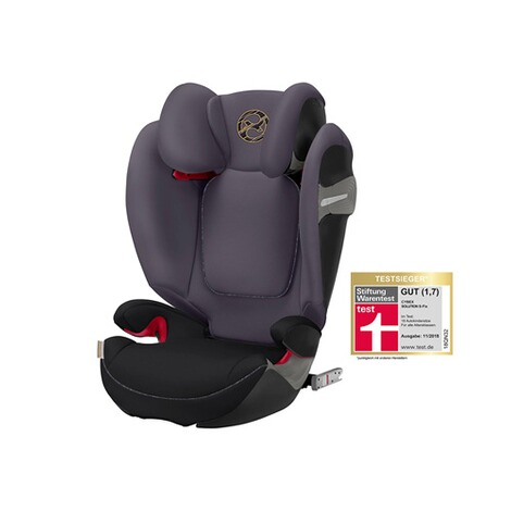Cybex GOLD Solution S-Fix Kindersitz  premium black 1