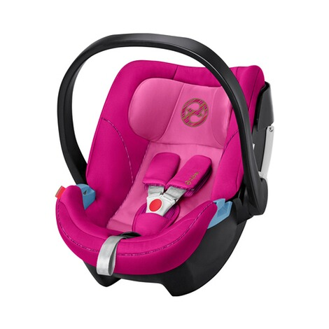 Cybex GOLD Aton 5 Babyschale  fancy pink 1