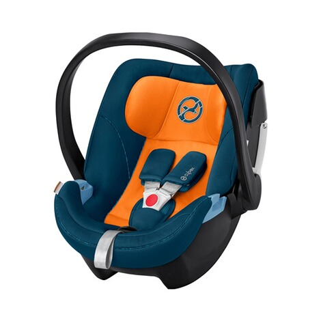 Cybex GOLD Aton 5 Babyschale  tropical blue 1