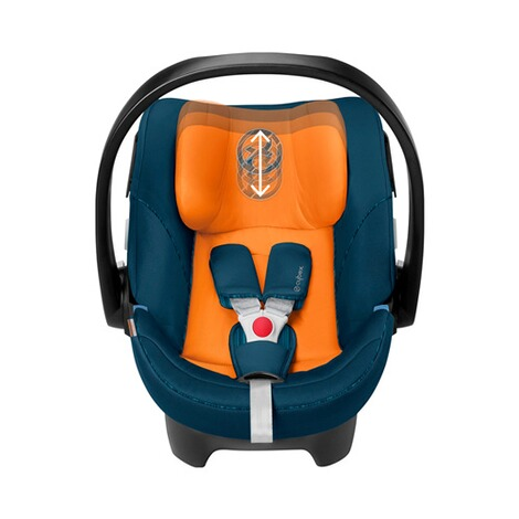 Cybex GOLD Aton 5 Babyschale  tropical blue 3