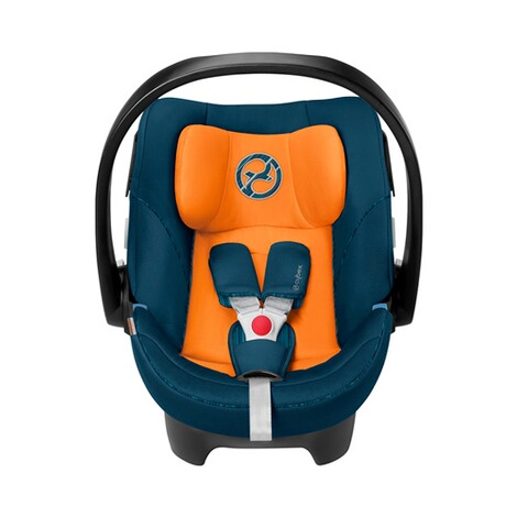Cybex GOLD Aton 5 Babyschale  tropical blue 2