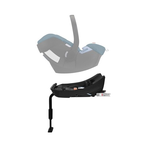 Cybex GOLD Aton 5 Babyschale  tropical blue 9