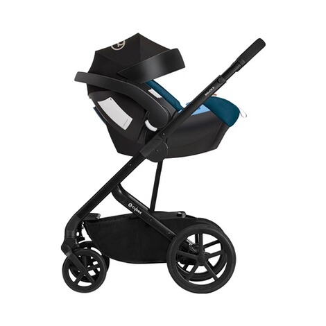 Cybex GOLD Aton 5 Babyschale  tropical blue 11