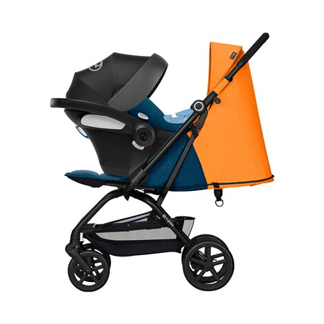 Cybex GOLD Eezy S + Buggy mit Liegefunktion  tropical blue 8