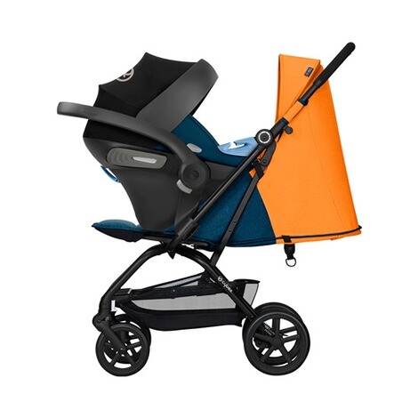 Cybex GOLD Eezy S + Buggy mit Liegefunktion  tropical blue 7