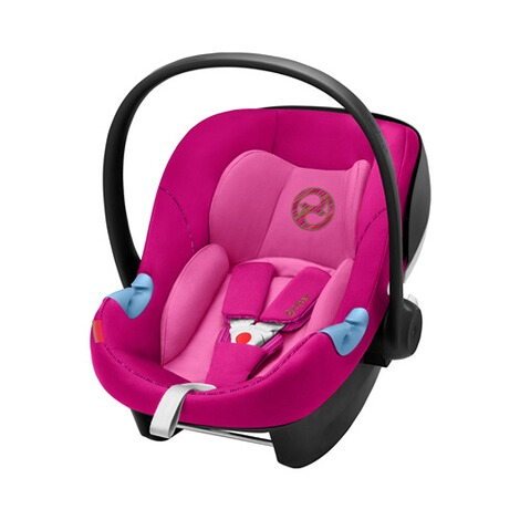 Cybex GOLD Aton M i-Size Babyschale  fancy pink 1