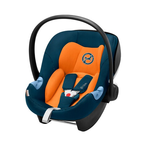 Cybex GOLD Aton M i-Size Babyschale  tropical blue 1