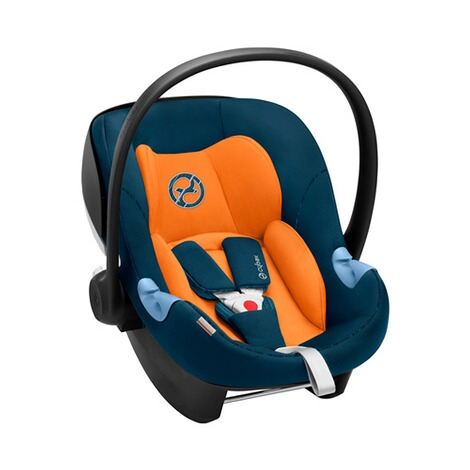 Cybex GOLD Aton M i-Size Babyschale  tropical blue 4