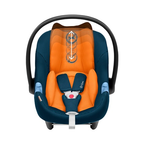 Cybex GOLD Aton M i-Size Babyschale  tropical blue 3