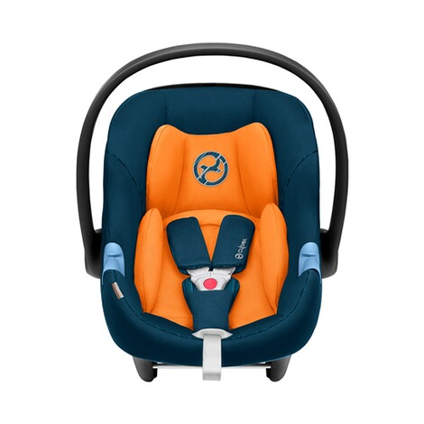 Cybex GOLD Aton M i-Size Babyschale  tropical blue 2