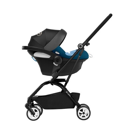 Cybex GOLD Aton M i-Size Babyschale  tropical blue 10