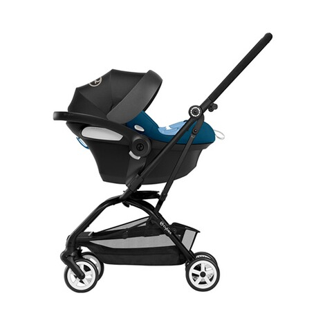 Cybex GOLD Aton M i-Size Babyschale  tropical blue 11