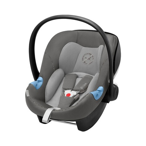Cybex GOLD Aton M i-Size Babyschale  manhattan grey 1