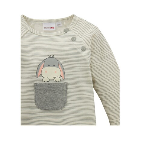 Bornino FARM ANIMALS Raglanshirt langarm Esel 3