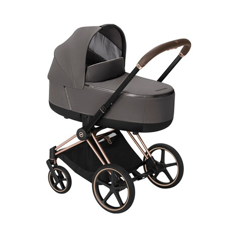 Cybex PLATINUM Tragewanne Priam Lux  Manhattan Grey 3