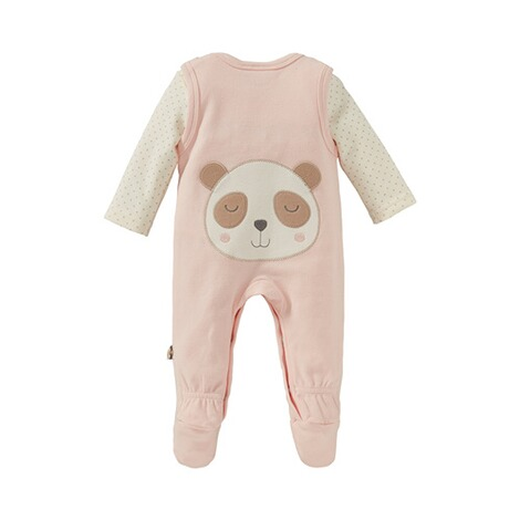Bornino Panda Time Strampler-Set Panda 3