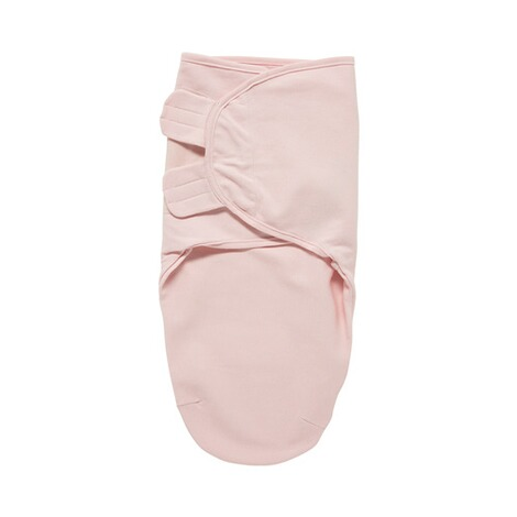 MeycoCouverture d'emmaillotage SwaddleMeyco unie taille S/M  rose clair 1