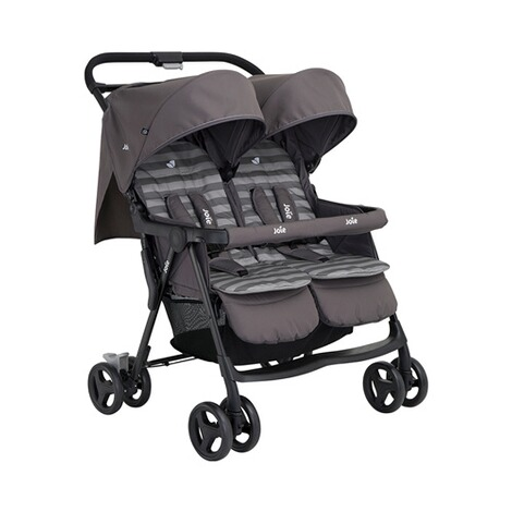 Joie  Aire Twin Zwillings- und Geschwisterbuggy  dark pewter 1