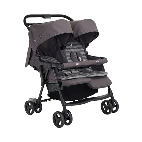 Joie  Aire Twin Zwillings- und Geschwisterbuggy  dark pewter 2
