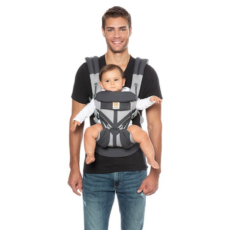 Ergobaby® OMNI 360 Cool Air Mesh Babytrage, 4 Tragepositionen  CarbonGrey 8
