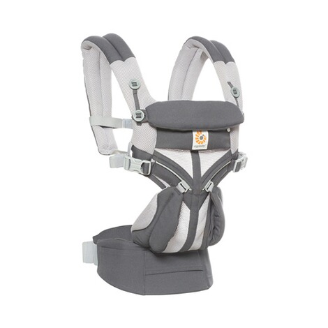 Ergobaby® OMNI 360 Cool Air Mesh Babytrage, 4 Tragepositionen  CarbonGrey 4