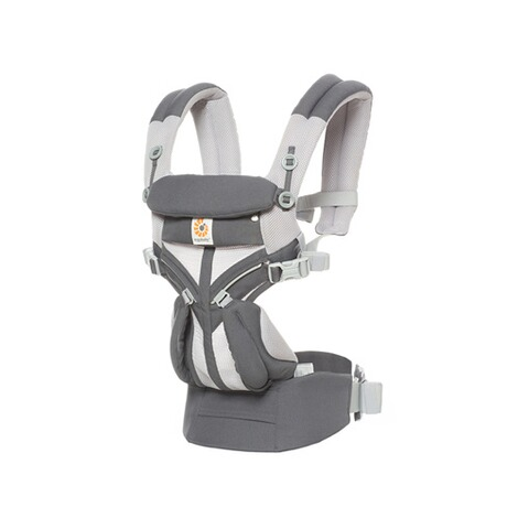 Ergobaby® OMNI 360 Cool Air Mesh Babytrage, 4 Tragepositionen  CarbonGrey 1