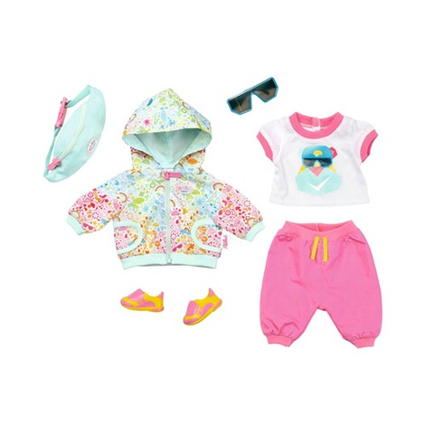 wholesale dealer 48a9f 272d2 BABY BORN Puppen Outfit Deluxe Fahrrad Play&Fun 43cm