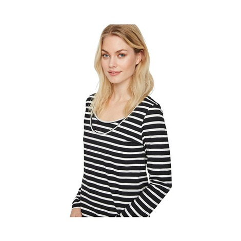 MAMALICIOUS®  2er-Pack Umstands- und Still-Shirt Lea Nell Organic Cotton 9