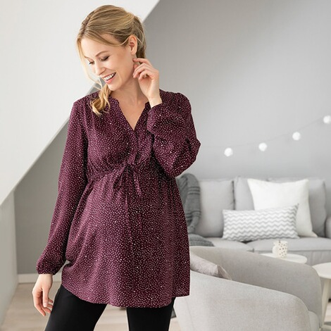 2hearts let´s get cozy Umstands- und Still-Bluse 5