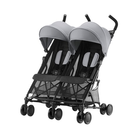 Britax Römer  Holiday Double Zwillingsbuggy  Steel Grey 1