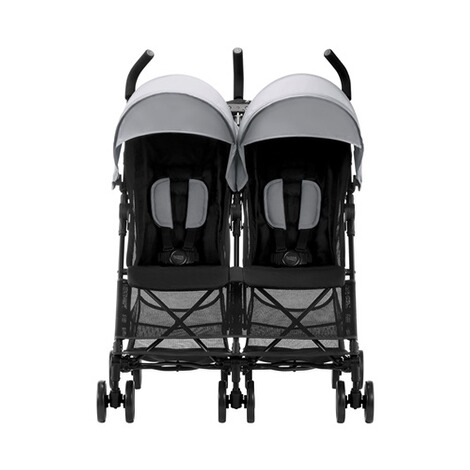 Britax Römer  Holiday Double Zwillingsbuggy  Steel Grey 2