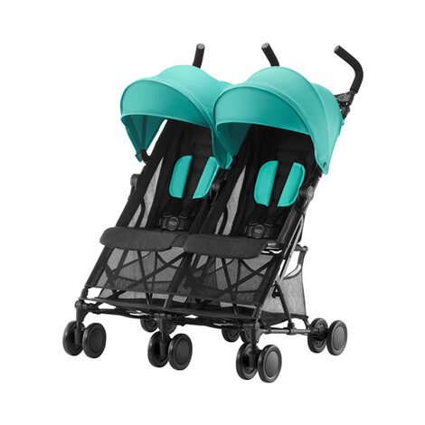 Britax RömerHoliday Double Zwillingsbuggy  Aqua Green 1