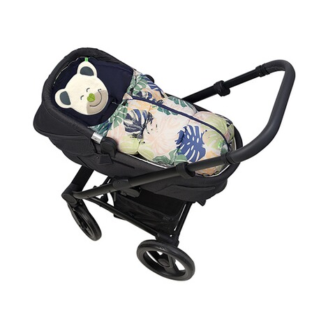 Odenwälder  Winter-Fußsack Mucki Fashion für Babyschale, Tragewanne  powder-green 2