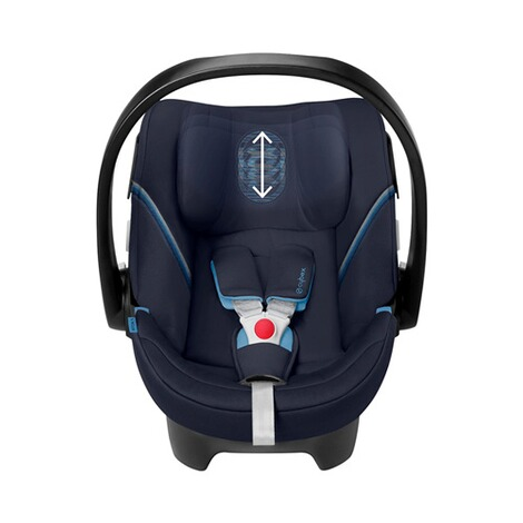 Cybex GOLD Aton 5 Babyschale  Navy Blue 5