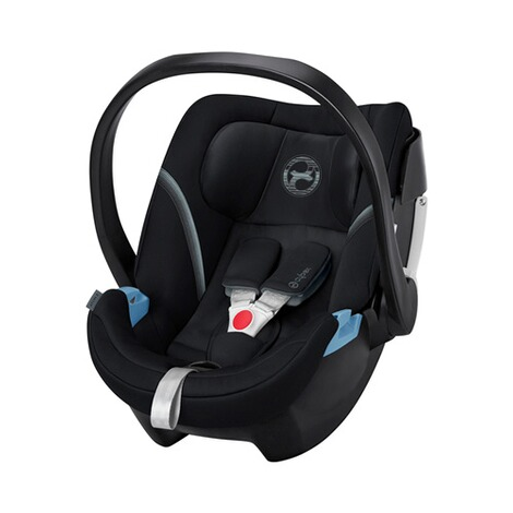 Cybex GOLD Aton 5 Babyschale  Deep Black 1
