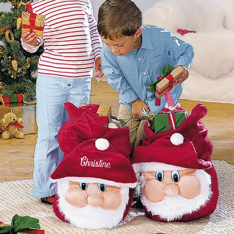 Weihnachtsgeschenke Sack.Geschenke Sack Mit Namen