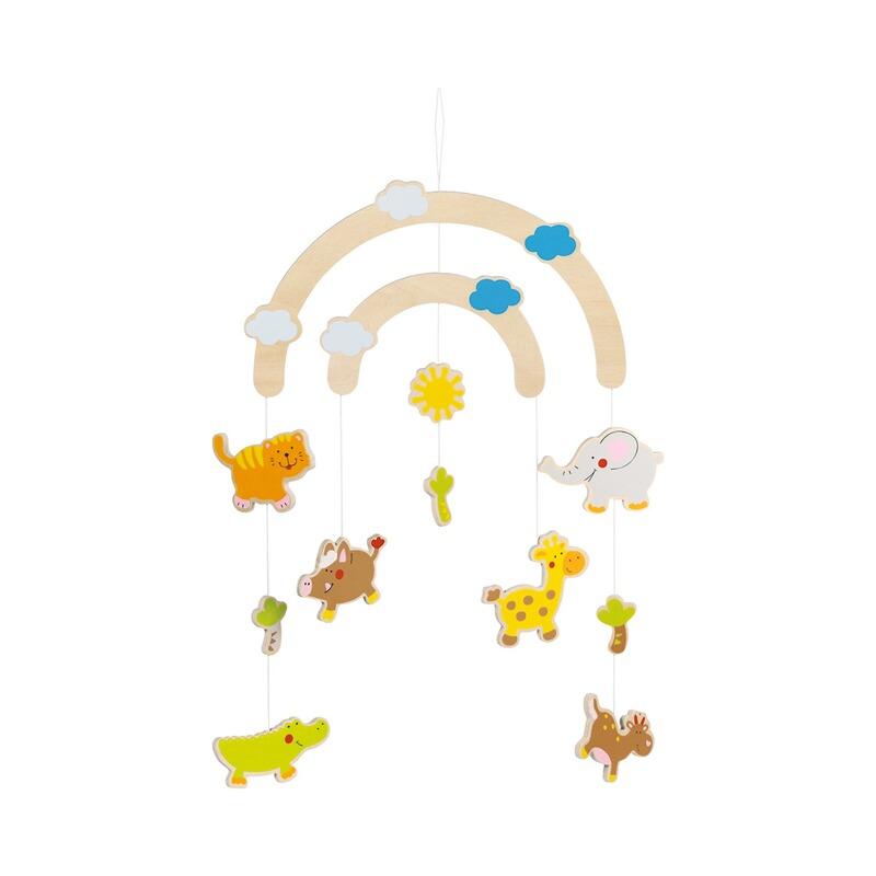 Goki Mobile Animaux en Bois